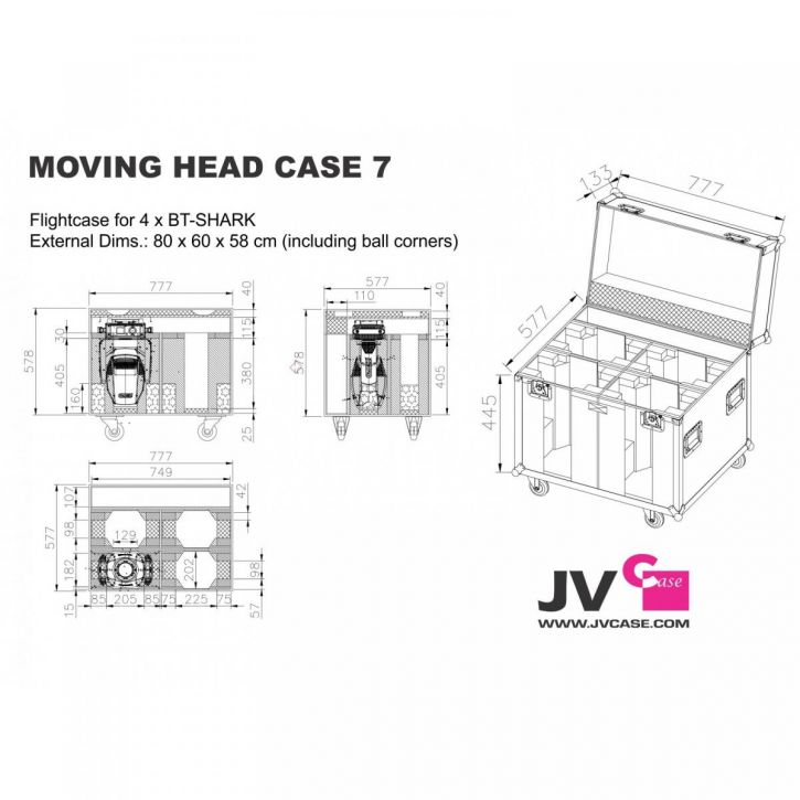 Moving Head Case 7