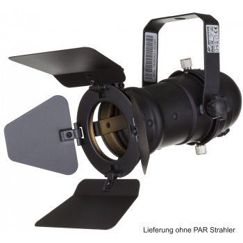Torblende PAR-16 schwarz