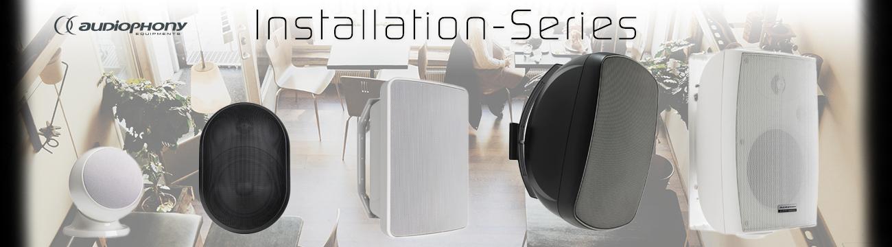Audiophony Installation-Series
