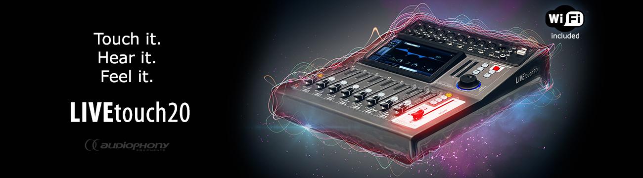 LIVEtouch20 von Audiophony