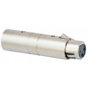 Adapter XLRmale 5P / XLRfem 3P