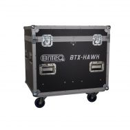 Flightcase für 2xBTX-HAWK Moving Head