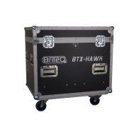 Flightcase für 2xBTX-HAWK Moving Head