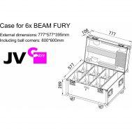 Case für 6 x BEAM FURY-1