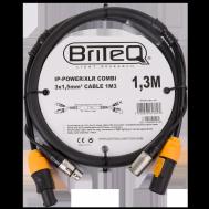 IP-Powercon/XLR combi cable 1M3
