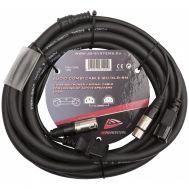 Audio Combi Cable IEC/XLR-5M