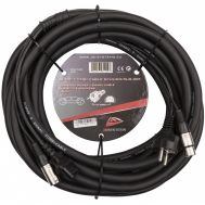 Audio Combi Cable SCHUKO/XLR-10M