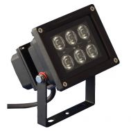 LED Outdoor Spot 6 x 1W warm weiß