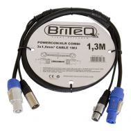 Powercon/XLR PRO Combi Cable 1,3m