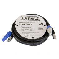 Powercon/XLR PRO Combi Cable 3m