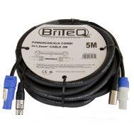 Powercon/XLR PRO Combi Cable 5m