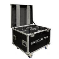 Flightcase für 4 x BTX-BEAM 2R