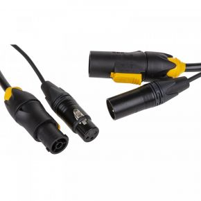 True1/XLR-3Pin Combi Kabel 1,5M